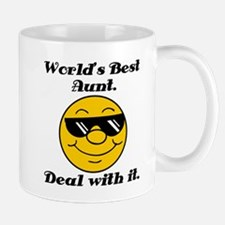 World's Best Aunt Humor Mug