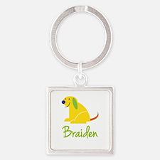 Braiden Loves Puppies Keychains