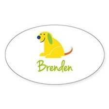 Brenden Loves Puppies Decal
