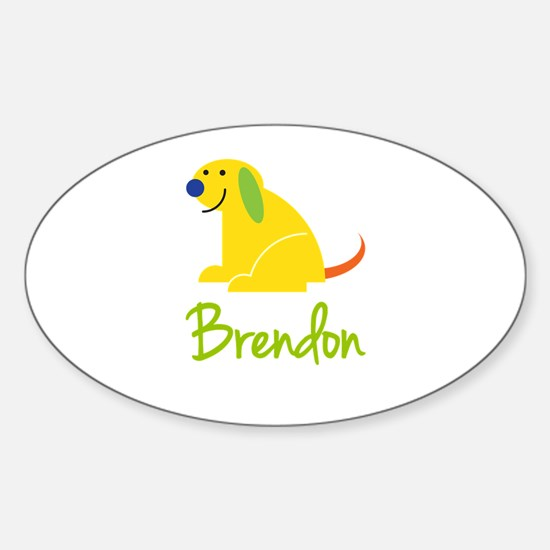 Brendon Loves Puppies Decal