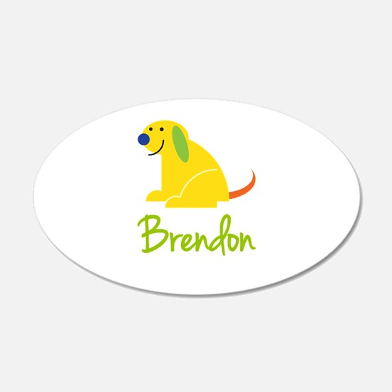 Brendon Loves Puppies Wall Decal