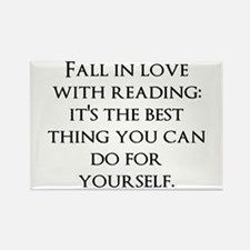 Fall In Love Rectangle Magnet