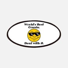 World's Best Cousin Humor Patches