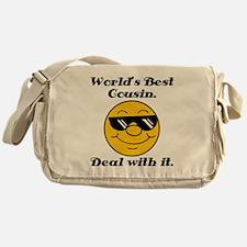 World's Best Cousin Humor Messenger Bag