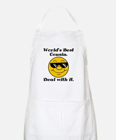 World's Best Cousin Humor Apron
