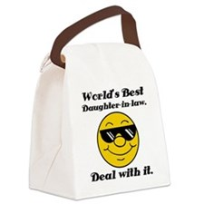 World's Best Daughter-In-Law Humor Canvas Lunch Ba
