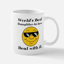 World's Best Daughter-In-Law Humor Mug