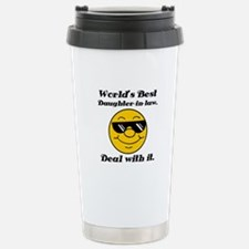 World's Best Daughter-In-Law Humor Travel Mug