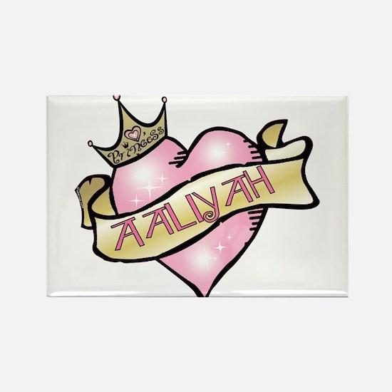 Sweetheart Aaliyah Custom Princess Rectangle Magne
