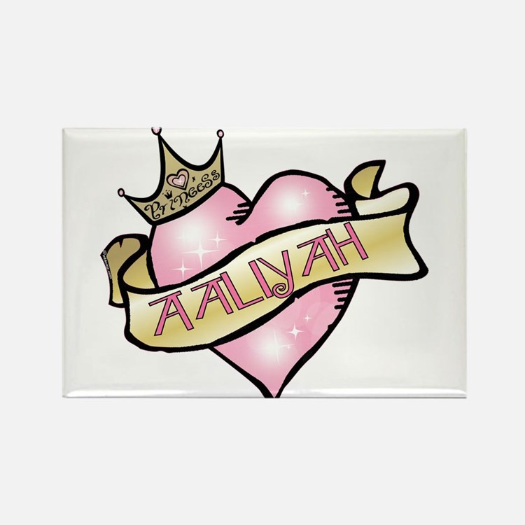 Sweetheart Aaliyah Custom Princess Rectangle Magne