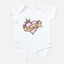 Sweetheart Aaliyah Custom Princess Infant Bodysuit