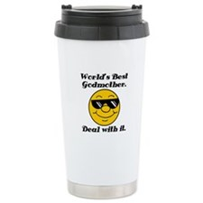 World's Best Godmother Humor Travel Mug