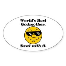 World's Best Godmother Humor Decal