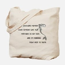 A Real Mermaid Tote Bag