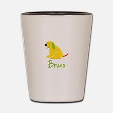 Bruno Loves Puppies Shot Glass