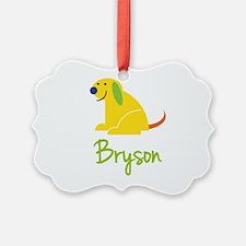 Bryson Loves Puppies Ornament