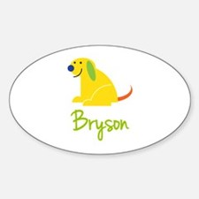 Bryson Loves Puppies Decal