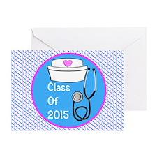 nurse ornament class of 15 PB Greeting Card
