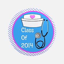 "nurse ornament class of 14 pb 3.5"" Button"