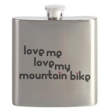 love me love my mountain bike Flask