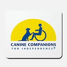 Color Canine Companions Logo Mousepad