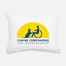 Color Canine Companions Logo Rectangular Canvas Pi