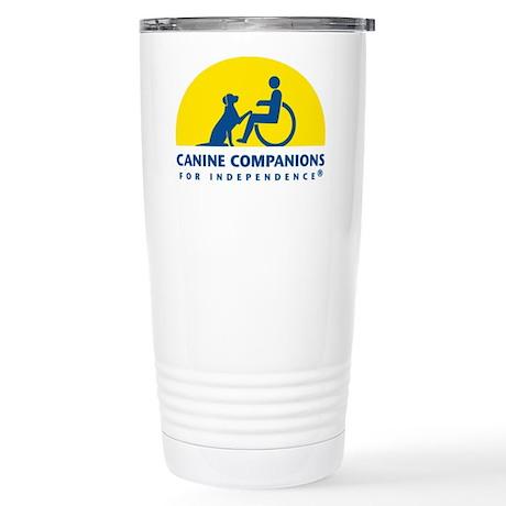 Color Canine Companions Logo Travel Mug