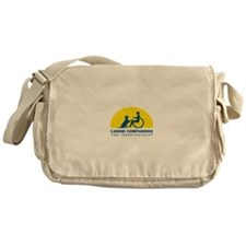 Color Canine Companions Logo Messenger Bag