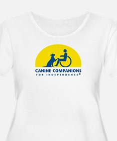 Color Canine Companions Logo Plus Size T-Shirt