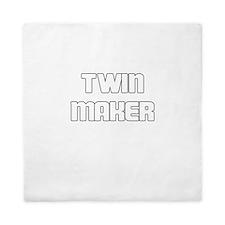 TWIN MAKER WHITE Queen Duvet