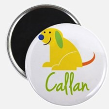 "Callan Loves Puppies 2.25"" Magnet (10 pack)"