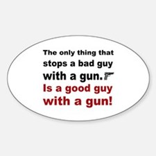 Good Guy with a gun Decal