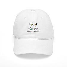 social worker graduation I DID IT Baseball Baseball Baseball Cap