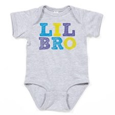 "Sketch Style ""Lil Bro"" Baby Bodysuit"