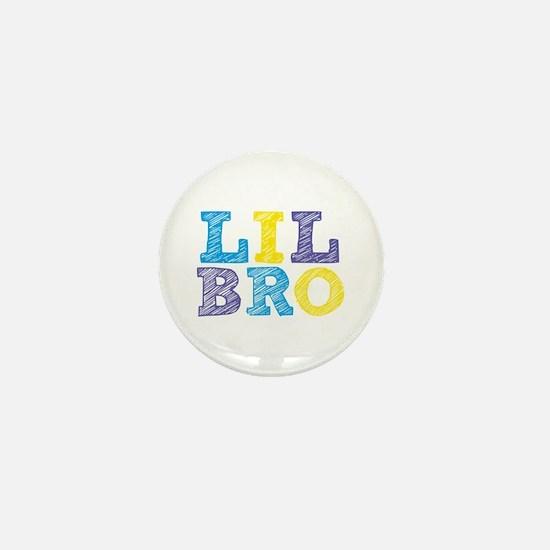 """Sketch Style """"Lil Bro"""" Mini Button"""