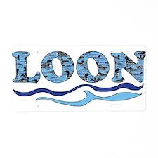 loon Aluminum License Plate