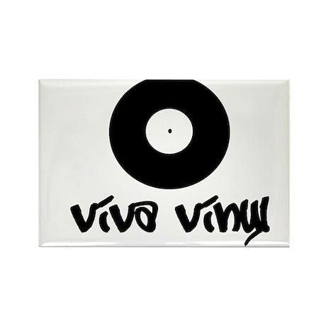 viva vinyl Rectangle Magnet