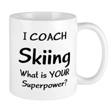 skiing coach Mug