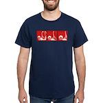 Red Fencing Thrust Dark T-Shirt