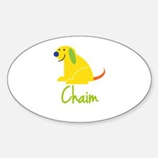 Chaim Loves Puppies Decal