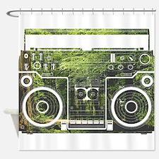 Nature Music Shower Curtain