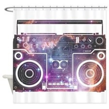 Stereo Shower Curtain