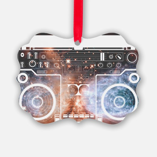 Ghetto Blaster Ornament