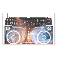 Ghetto Blaster Decal