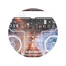 "Ghetto Blaster 3.5"" Button (100 pack)"