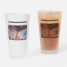 Ghetto Blaster Drinking Glass