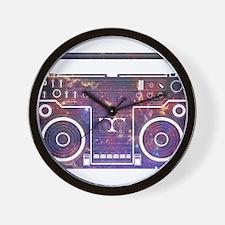 Boom Box Wall Clock