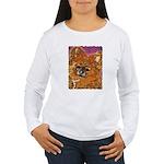 Long Haired Chihuahua Women's Long Sleeve T-Shirt
