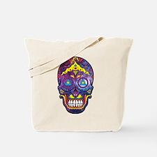 Festive Skull Tote Bag