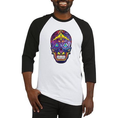 Festive Skull Baseball Jersey